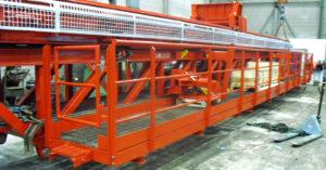 Hydramech Solutions overhaul of catwalk machine